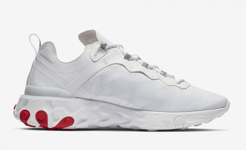 Bq6167 Nike Rouge 55 Blanche 102 Element React dQCBrxeEoW