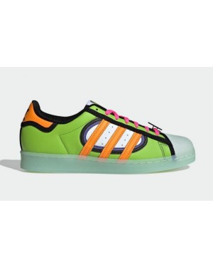 "The Simpsons x Adidas Superstar ""Squishee"" Vert/Rose/Violet/Orange H05789"