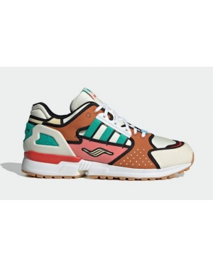 """The Simpsons x Adidas ZX 10000 """"Krusty Burger"""" Blanche/Supplier Color-Blanche H05783"""