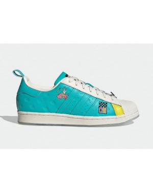 Arizona Iced Tea x Adidas Superstar Cream/Teal/Mint/Rose/Jaune GZ2861