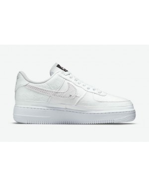 """Nike Air Force 1 Low """"Reveal"""" Blanche/Marron/Arctic Punch-Pale Vanilla DJ9941-244"""