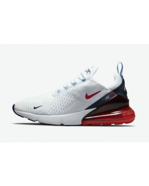 "Nike Air Max 270 ""USA"" Blanche/Bleu/Rouge DJ5172-100"