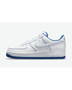 Nike Air Force 1 Low Blanche/Blanche-Game Royal CV1724-101