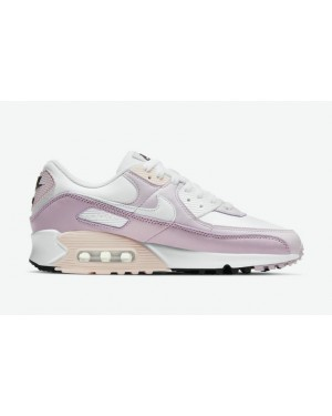 """Nike Air Max 90 """"Violet"""" Blanche/Champagne/Violet-Blanche CV8819-100"""