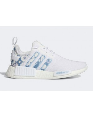 adidas NMD R1 Blanche Ambient Sky Femme - GV8278