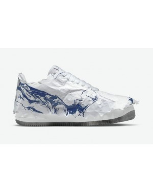 """Nike Air Force 1 Shadow """"Goddess of Victory"""" Blanche/Navy DJ4635-100"""