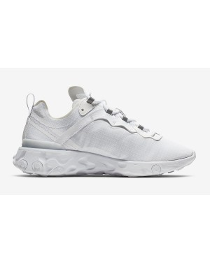 Nike React Element 55 Blanche Pure Platinum BQ6167-101