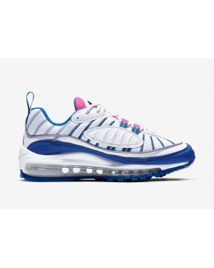 Nike Air Max 98 Blanche/Rose/Bleu BV4872-101