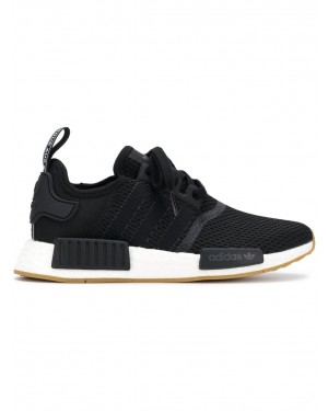 Adidas B42200 NMD R1 Fonctionnement Chaussure (Noir/Blanche)