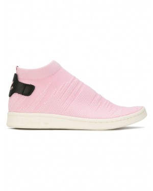 Adidas By9250 Femme Stan Smith Sock PK Tennis Chaussures Rose