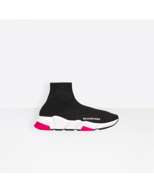 Balenciaga Femme Speed Trainers with tricolor sole Noir 540681W05G01000