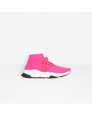 Balenciaga Femme Speed Trainers Rose 521126W07U05641