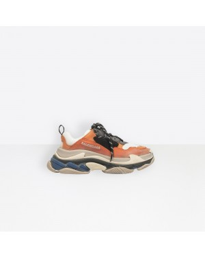 Balenciaga Femme Triple S Trainers Orange 541640W09OE7581