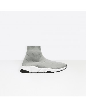 Balenciaga Homme Speed Trainers Gris 512527W06501224