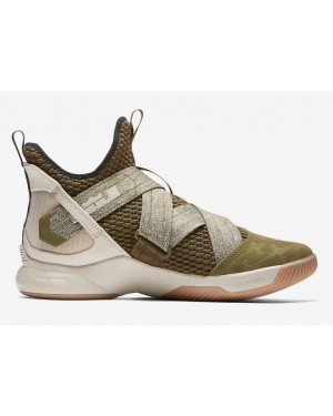 Homme Nike LeBron Soldier 12 Basketball Chaussures AO2609-300