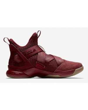 Nike LeBron Soldier 12 XII Rouge Cavs Release Date AO4055-600