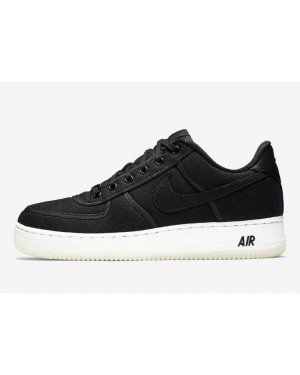 Nike Air Force 1 Low Canvas Noir | AH1067-004
