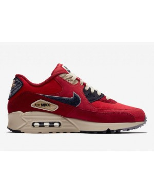 Nike Air Max 90 Chenille Swoosh Rouge | 858954-600