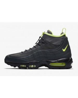 Nike Air Max 95 Sneakerboot Noir Jaune 806809-003