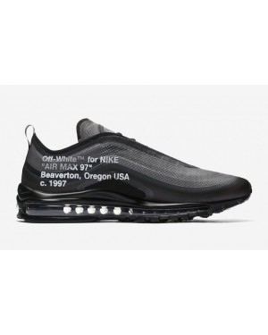 Off-White Nike Air Max 97 AJ4585-001 Noir Blanche