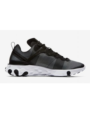 React Element 55 'Noir Blanche' - Nike - BQ6166-003
