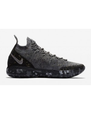 Nike AO2604-901 KD 11 Homme Basketball Chaussures (Gris/Or)