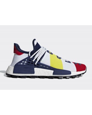 Pharrell Williams x Adidas NMD Hu BBC Rouge Multi | BB9544