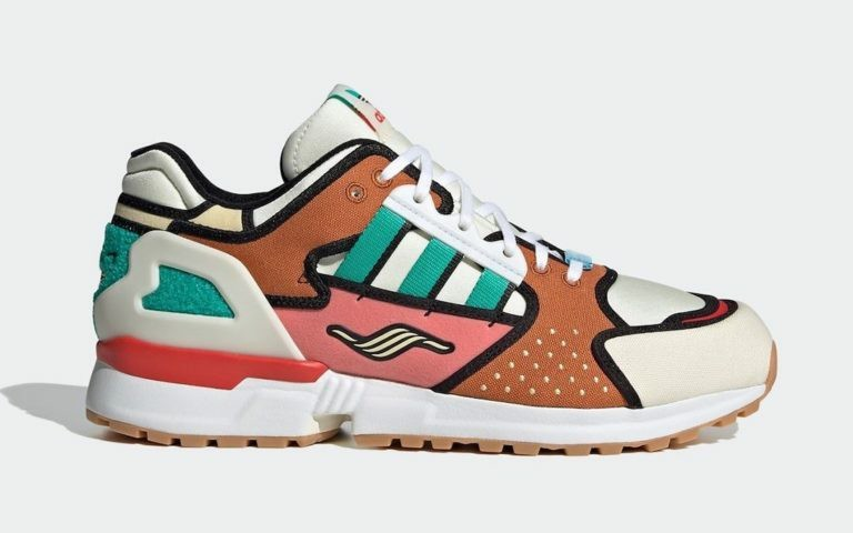 "The Simpsons x Adidas ZX 10000 ""Krusty Burger"" Blanche/Supplier Color-Blanche H05783"