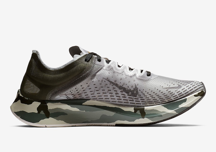 Nike Zoom Fly SP Fast Sequoia Gris AT5242-300