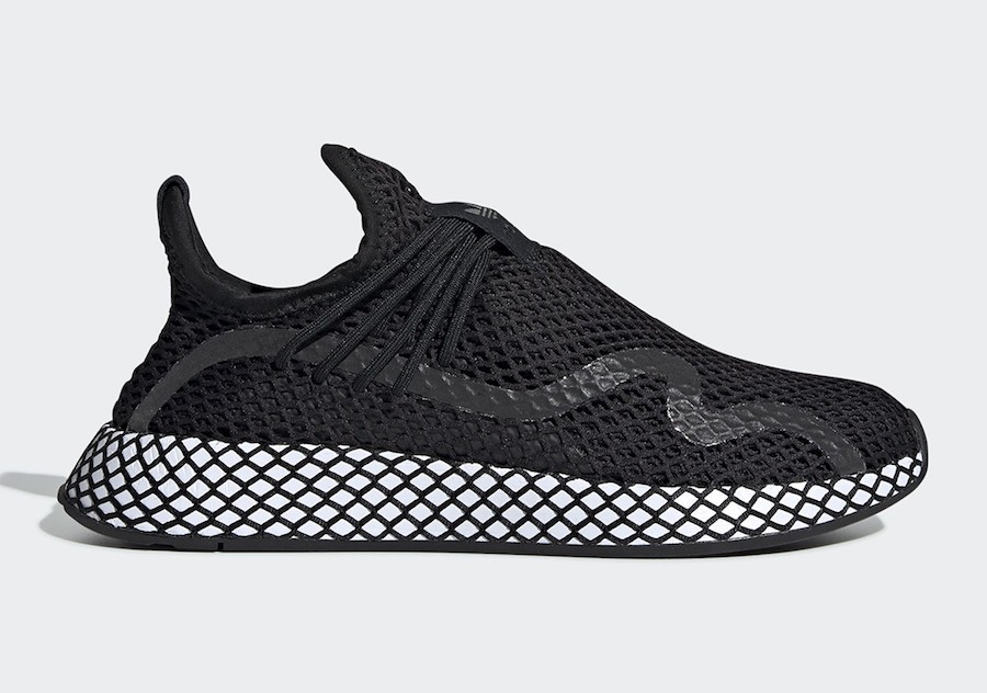 adidas Deerupt S Noir Blanche BD7879