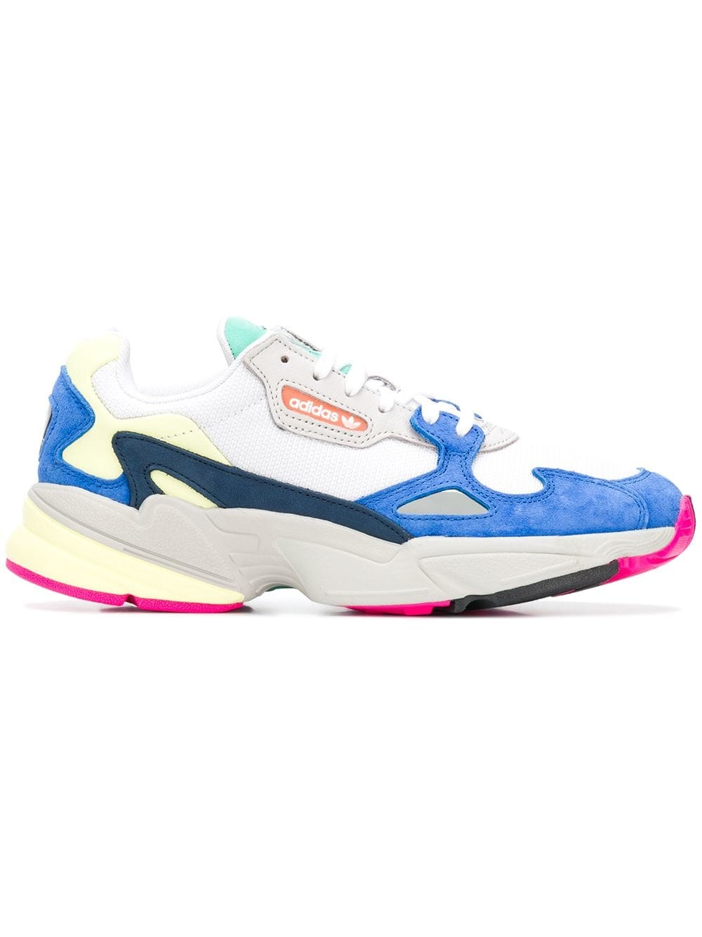 Adidas Originals Falcon Femme BB9174 Bleu/Jaune/Rose