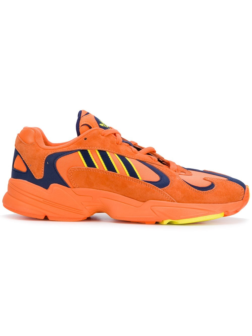 "Adidas YUNG-1 Orange Jaune Navy ""Goku"" B37613"