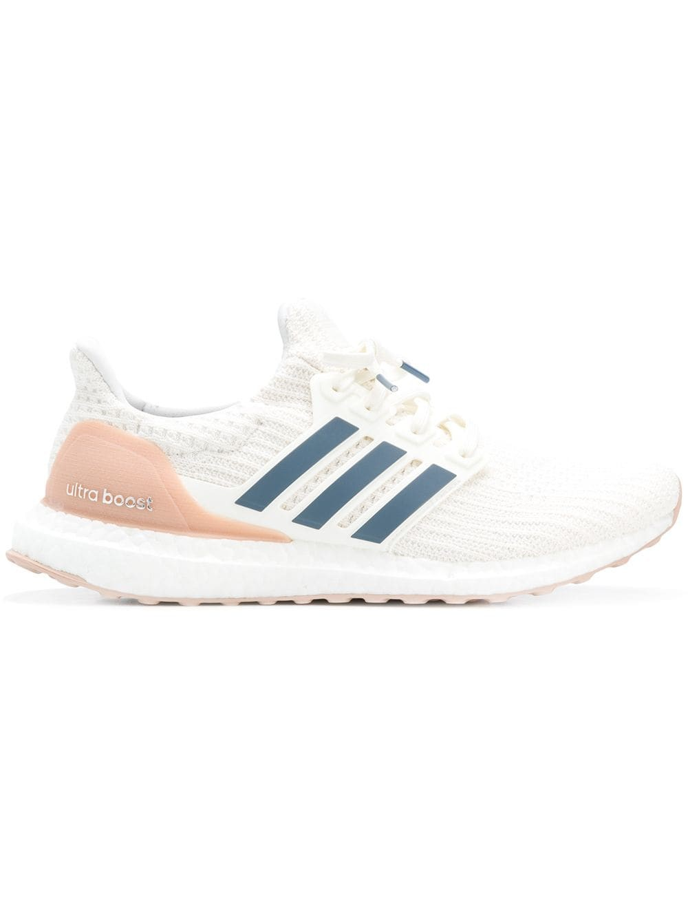 didas Ultra Boost 4.0 Show Your Stripes Blanche Bleu CM8114