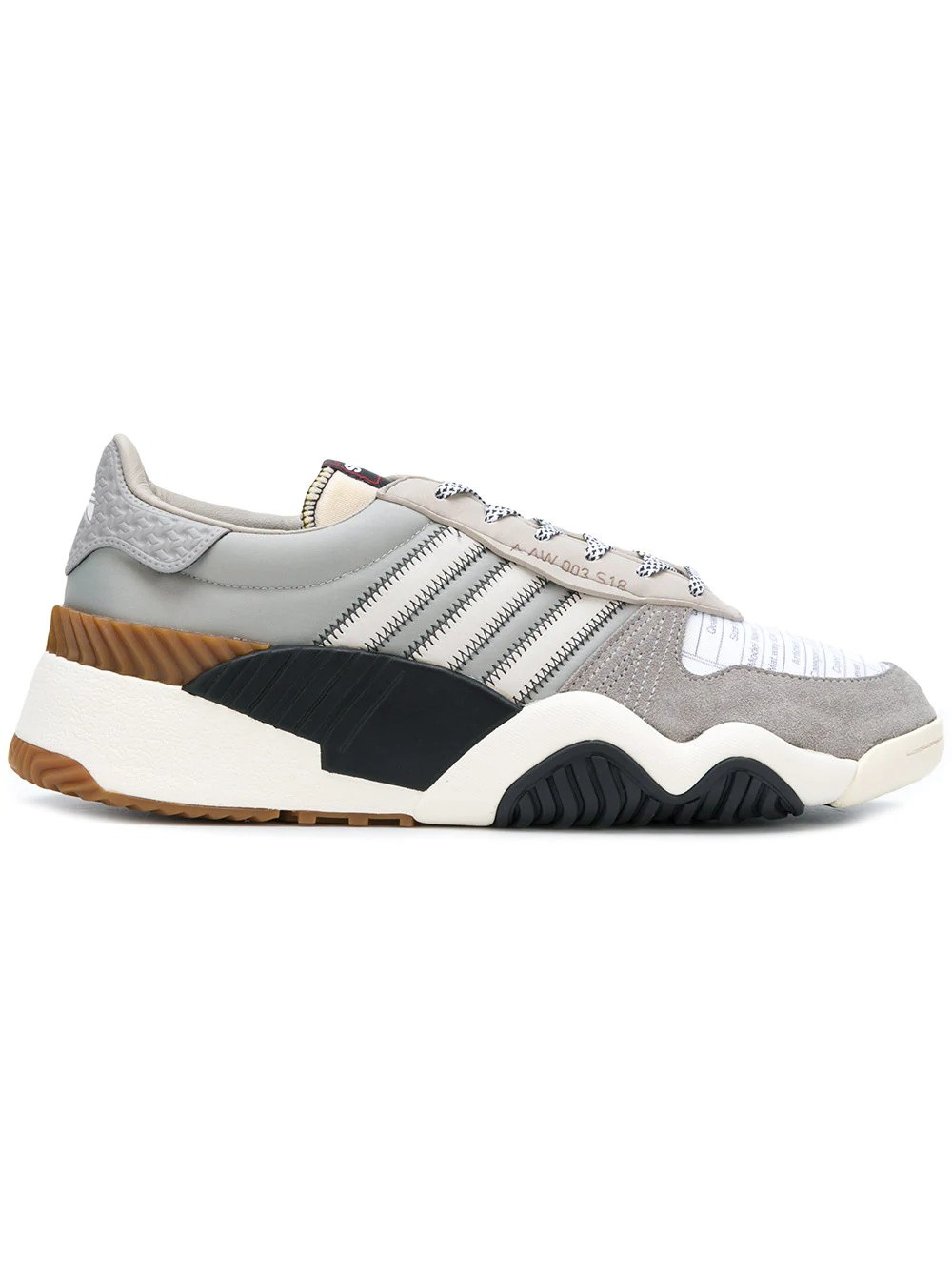 Adidas Originals by Alexander Wang Trainer B43589 Marron/Blanche/Noir