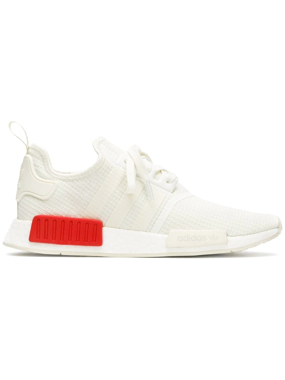 "NMD_R1 ""Rouge"" - Adidas - B37619 - Blanche/Rouge"