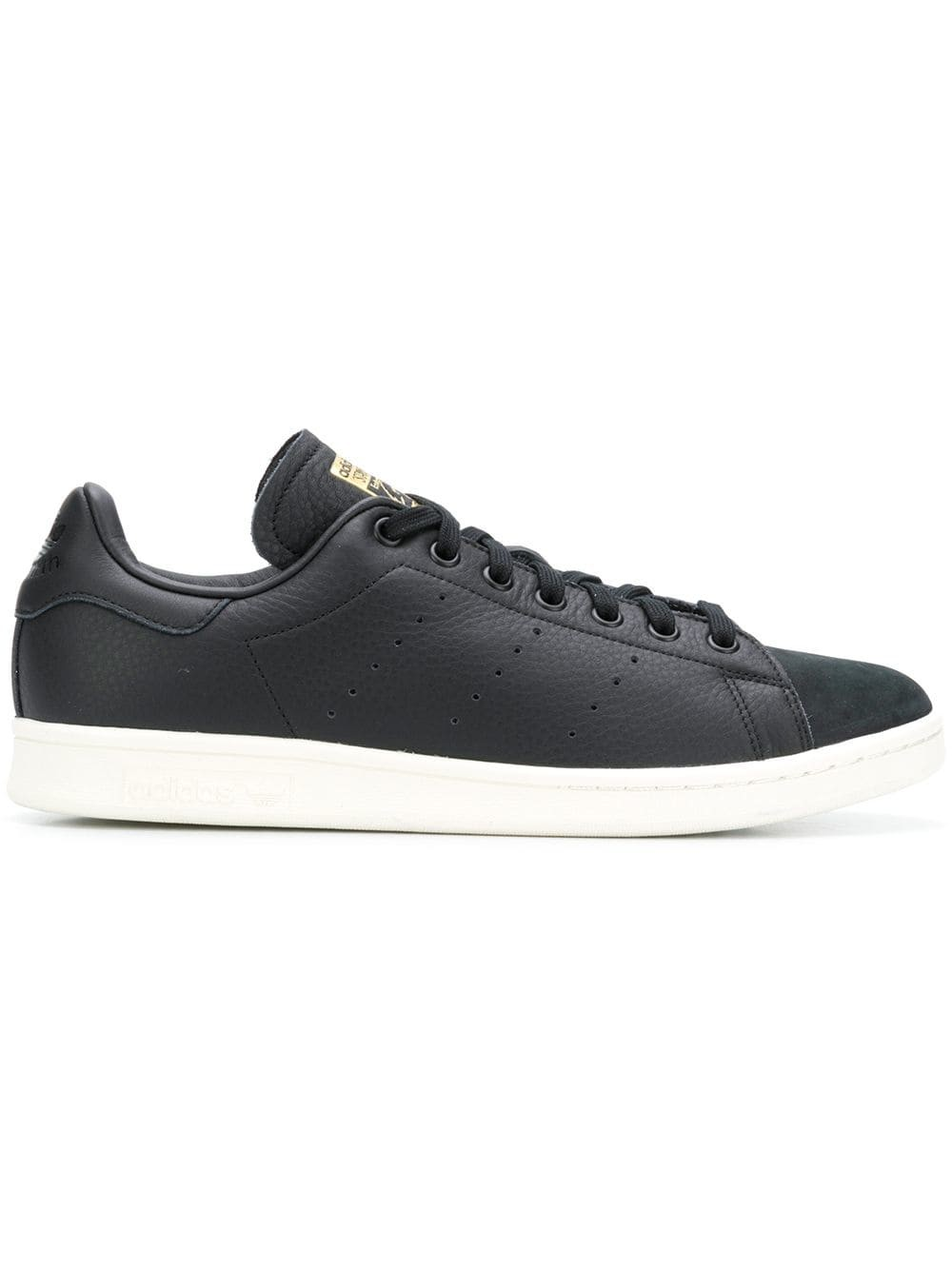 Adidas Stan Smith Premium Noir/Or B37901