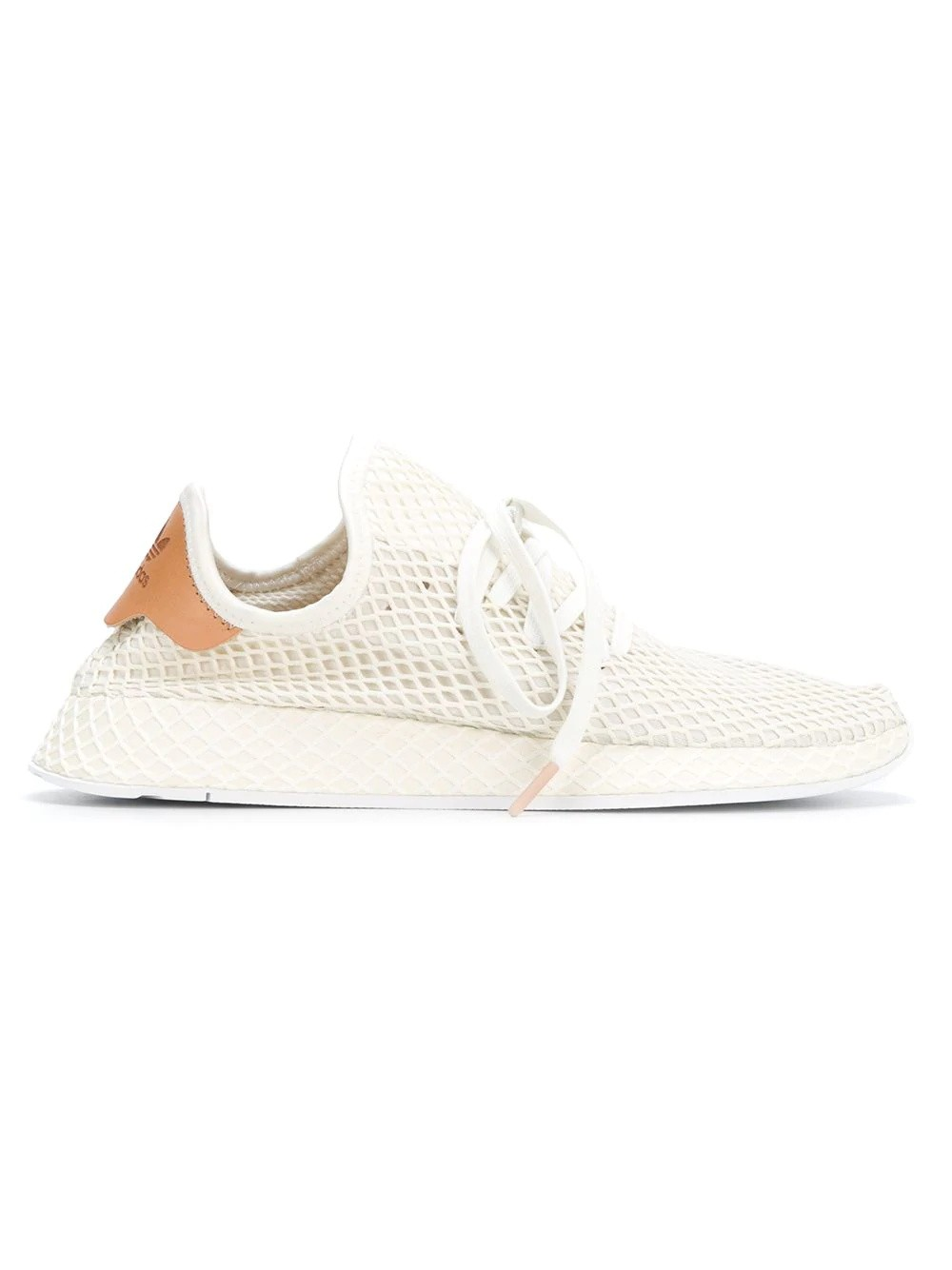 Adidas Originals Deerupt Runner (Blanche/Blanche/Marron) B41759