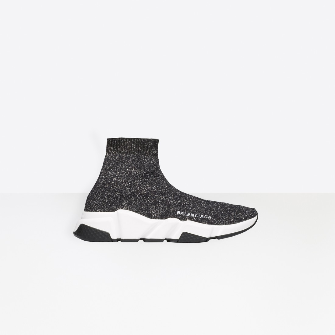 Balenciaga Femme Speed Trainers with textured sole Noir 530284W06801000