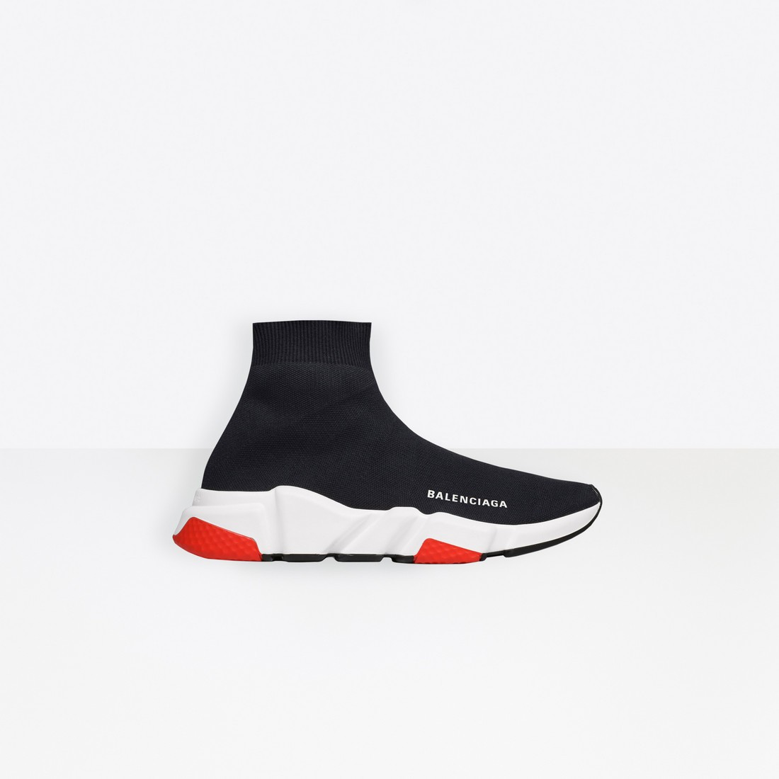 Balenciaga Femme Speed Trainers with tricolor sole Noir 525715W05G01000