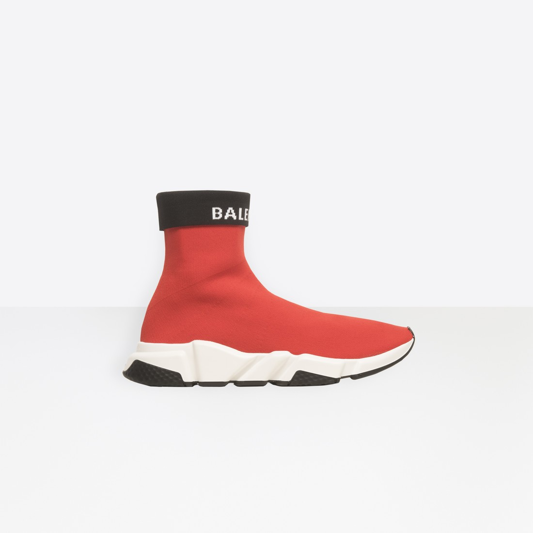 Balenciaga Homme Speed Trainers Cuffed Rouge 530363W1GV06578