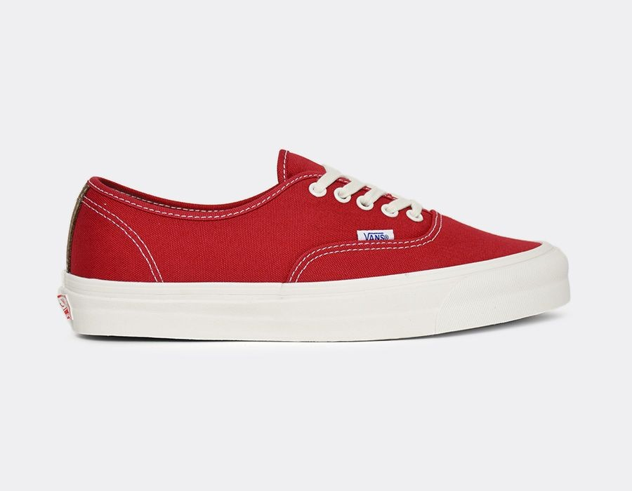 Vans Vault OG Authentique LX (Chilli Pepper/Teak) VUDDIAU