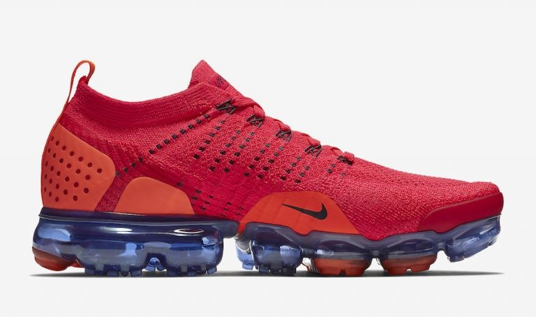 Nike Air VaporMax 2 Flyknit Rouge AR5406-600