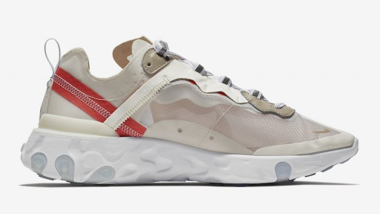 Nike Sportswear React Element 87 AQ1090-100 | Beige/Gris