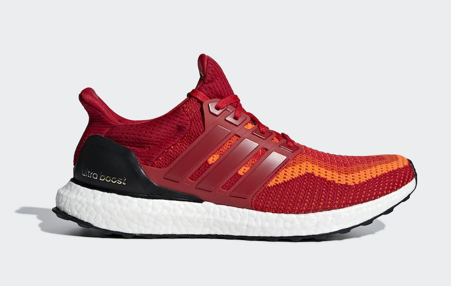 UltraBoost - Adidas - aq4006 - Rouge/Rouge/Blanche