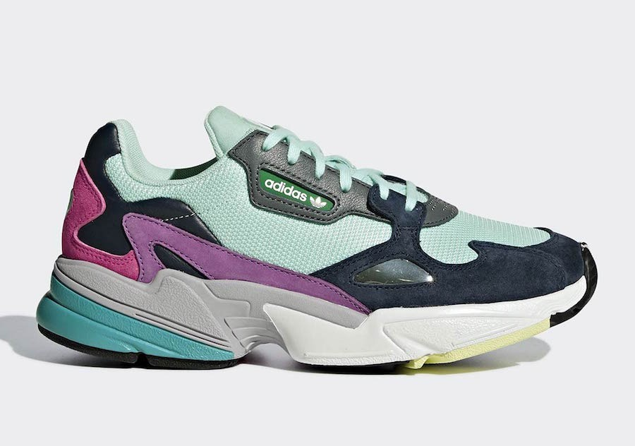 Adidas Originals Falcon Femme (Mint/Bleu/Rose) BB9175