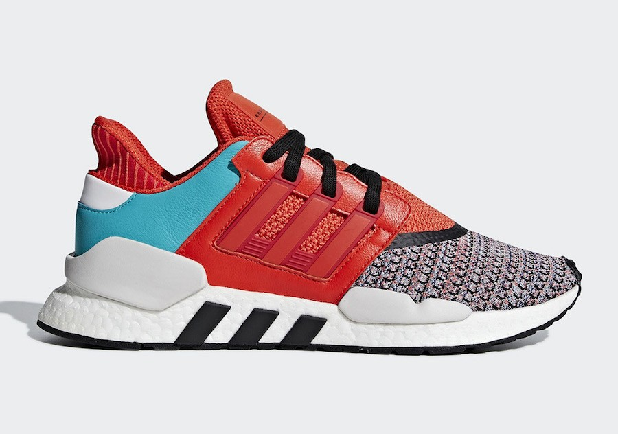Adidas EQT Support 91/18 Multicolore Orange D97049