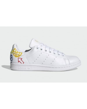 Adidas Stan Smith Blanche/Halo Ivory-Blanche FX5679