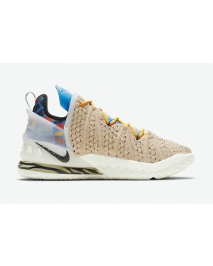 Nike LeBron 18 Multi-Color/Multi-Color CW3156-900