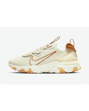 "Nike React Vision ""Pale Ivory"" Pale Ivory/Coconut Milk-Blanche-Monarch CI7523-103"