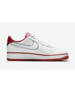 """Nike Air Force 1 Low """"Hello"""" Blanche/Blanche-Rouge-Noir CZ0327-100"""